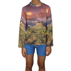 Chapada Diamantina 1 Kid s Long Sleeve Swimwear