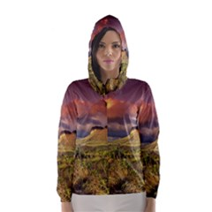 CHAPADA DIAMANTINA 1 Hooded Wind Breaker (Women)