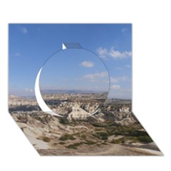 Cappadocia 3 Circle 3d Greeting Card (7x5)
