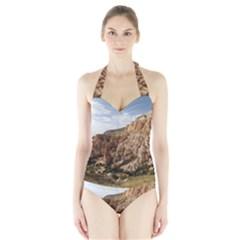 CAPPADOCIA 2 Women s Halter One Piece Swimsuit
