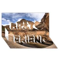 Capital Reefs Best Friends 3d Greeting Card (8x4)