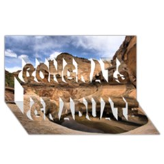 Capital Reefs Congrats Graduate 3d Greeting Card (8x4)