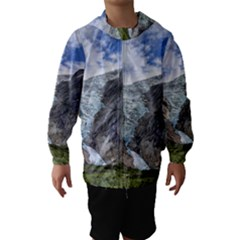 BRIKSDALSBREEN Hooded Wind Breaker (Kids)