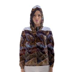 ARTISTS PALETTE 2 Hooded Wind Breaker (Women)