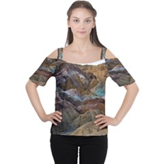 ARTISTS PALETTE 2 Women s Cutout Shoulder Tee