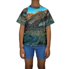 ARTISTS PALETTE 1 Kid s Short Sleeve Swimwear