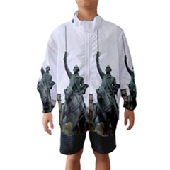 WASHINGTON STATUE Wind Breaker (Kids)