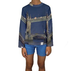 TOWER BRIDGE Kid s Long Sleeve Swimwear