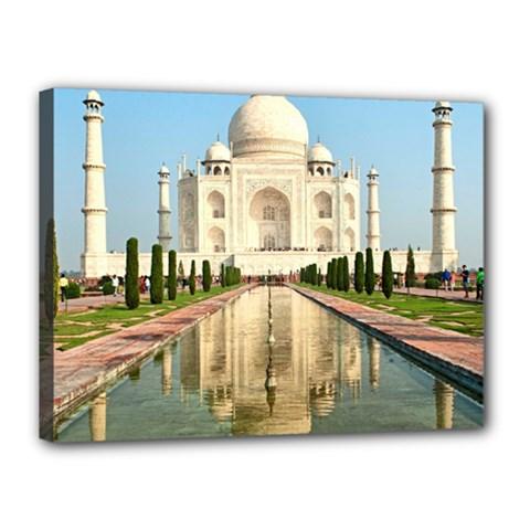 Taj Mahal Canvas 16  X 12