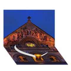 STANFORD CHRUCH Heart Bottom 3D Greeting Card (7x5)