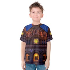 STANFORD CHRUCH Kid s Cotton Tee