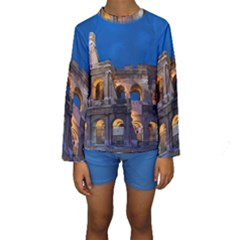 ROME COLOSSEUM 2 Kid s Long Sleeve Swimwear