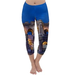 ROME COLOSSEUM 2 Capri Winter Leggings