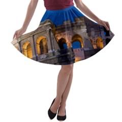 ROME COLOSSEUM 2 A-line Skater Skirt