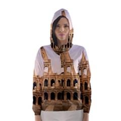 ROME COLOSSEUM Hooded Wind Breaker (Women)