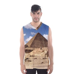 Pyramid Giza Men s Basketball Tank Top