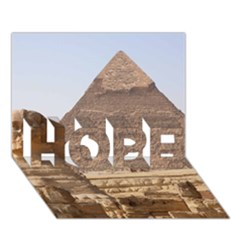 Pyramid Egypt Hope 3d Greeting Card (7x5)