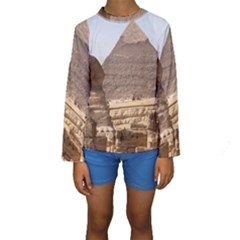 PYRAMID EGYPT Kid s Long Sleeve Swimwear