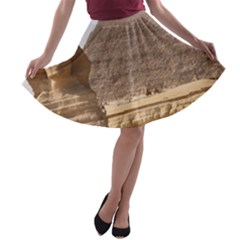 PYRAMID EGYPT A-line Skater Skirt