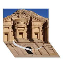 Petra Jordan Heart Bottom 3d Greeting Card (7x5)