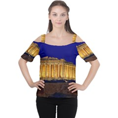 PARTHENON 2 Women s Cutout Shoulder Tee