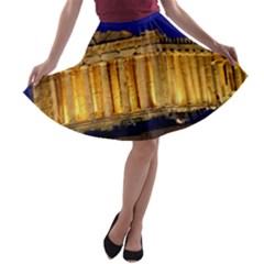 PARTHENON 2 A-line Skater Skirt