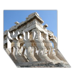Parthenon You Are Invited 3d Greeting Card (7x5)