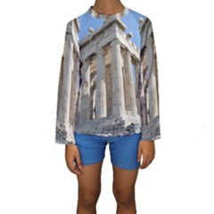 PARTHENON Kid s Long Sleeve Swimwear