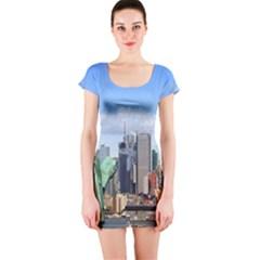 Ny Liberty 1 Short Sleeve Bodycon Dresses