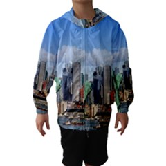 NY LIBERTY 1 Hooded Wind Breaker (Kids)