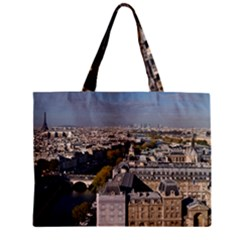 Notre Dame Zipper Tiny Tote Bags