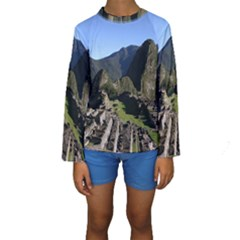MACHU PICCHU Kid s Long Sleeve Swimwear