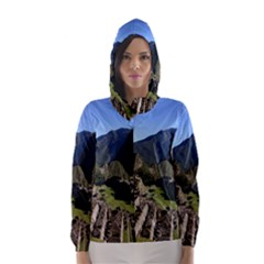 MACHU PICCHU Hooded Wind Breaker (Women)