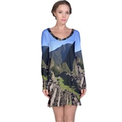 Machu Picchu Long Sleeve Nightdresses