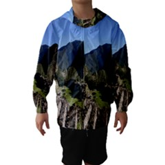 Machu Picchu Hooded Wind Breaker (kids)