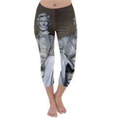 Lincoln Memorial Capri Winter Leggings