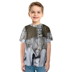 LINCOLN MEMORIAL Kid s Sport Mesh Tees