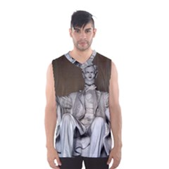 LINCOLN MEMORIAL Men s Basketball Tank Top