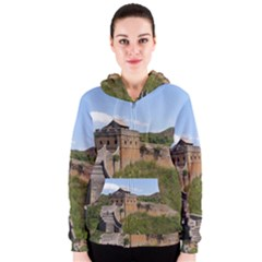 Great Wall Of China 3 Women s Zipper Hoodies