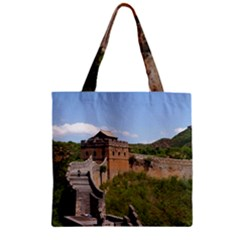 Great Wall Of China 3 Zipper Grocery Tote Bags