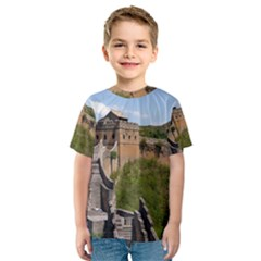 GREAT WALL OF CHINA 3 Kid s Sport Mesh Tees