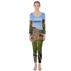 Great Wall Of China 3 Long Sleeve Catsuit