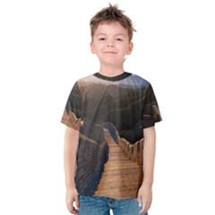 GREAT WALL OF CHINA 2 Kid s Cotton Tee