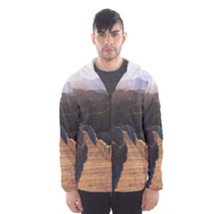 Great Wall Of China 2 Hooded Wind Breaker (men)