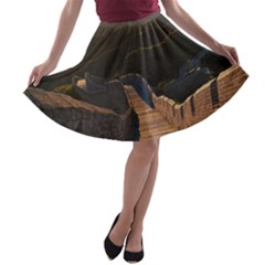 GREAT WALL OF CHINA 2 A-line Skater Skirt