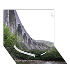 GLENFINNAN VIADUCT 2 Heart Bottom 3D Greeting Card (7x5)