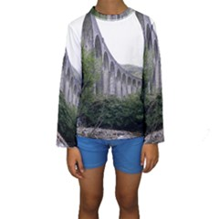 GLENFINNAN VIADUCT 2 Kid s Long Sleeve Swimwear
