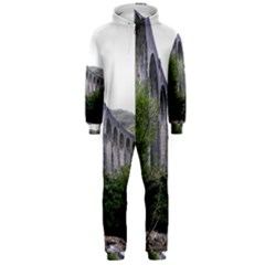Glenfinnan Viaduct 2 Hooded Jumpsuit (men)