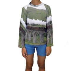 Glenfinnan Viaduct 1 Kid s Long Sleeve Swimwear