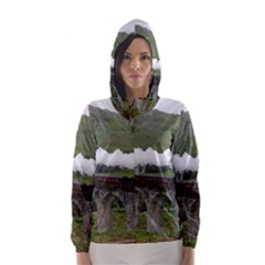 GLENFINNAN VIADUCT 1 Hooded Wind Breaker (Women)